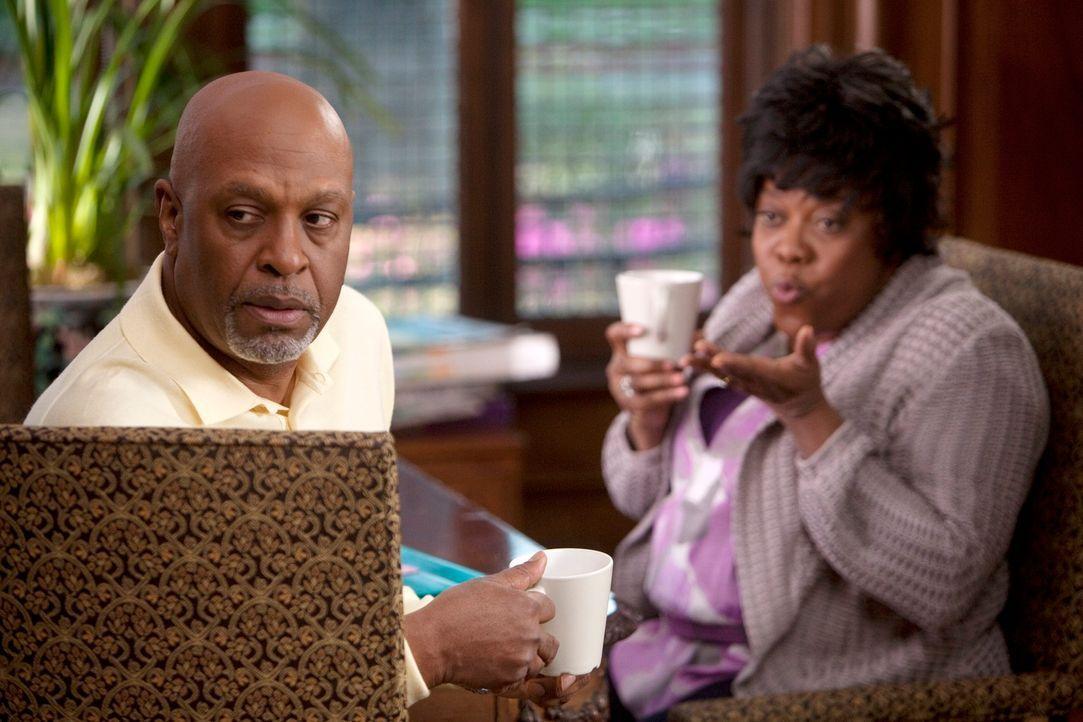 Während die Ärzte eine Unbekannte behandeln, macht Richard (James Pickens, Jr., l.) eine beunruhigende Entdeckung, als er Adele (Loretta Devine, r.)... - Bildquelle: Touchstone Television