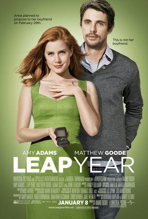 LEAP YEAR - Plakatmotiv - Bildquelle: 2010 Universal Studios