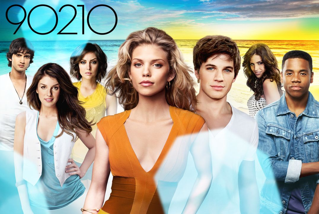"(5. Staffel) - ""90210"" - Artwork - Bildquelle: The CW   2012 The CW Network, LLC. All rights reserved."