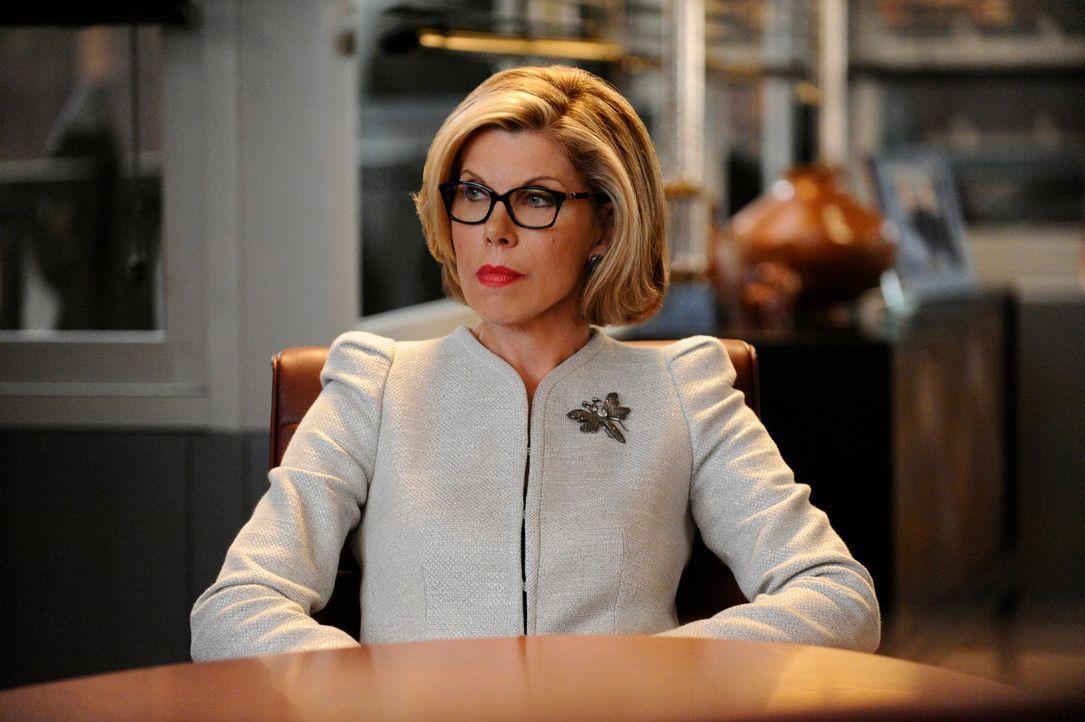 Als Diane (Christine Baranski) sich mit ihren Kollegen streitet, werden die Partner auf den Plan gerufen ... - Bildquelle: Myles Aronowitz 2013 CBS Broadcasting Inc. All Rights Reserved.