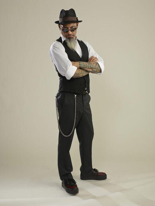 Ruckus weiß genau, welche Tattoos in und welche out sind und das teilt er den Opfern auch gnadenlos mit ... - Bildquelle: 2013 A+E Networks, LLC