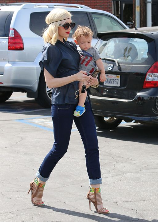Gwen Stefani's Sohn Apollo Bowie Flynn Rossdale - Bildquelle: WENN.com