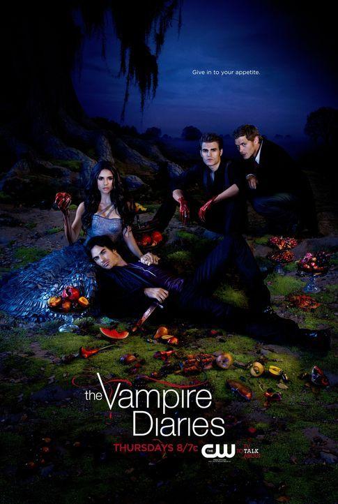 (4.Staffel) - Vampire Diaries - Plakatmotiv - Bildquelle: Warner Brothers
