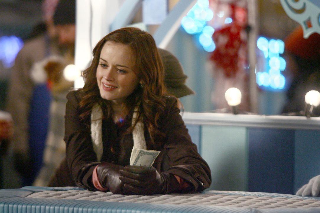 Rory (Alexis Bledel) unterstützt ihre Mutter bei der Betreuung ihres Standes auf dem Winterfest ... - Bildquelle: Copyright Warner Brother International Television