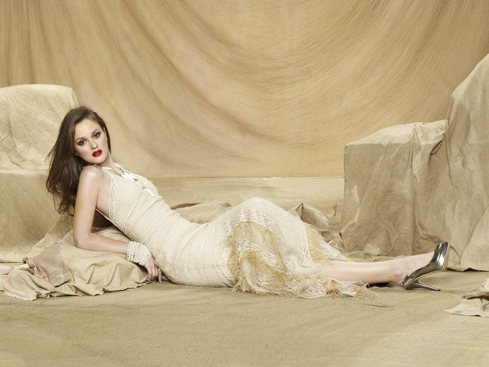 (3. Staffel) - Kämpft am College um die Anerkennung ihrer Kommilitonen, muss jedoch feststellen, dass sie nicht mehr die Königin ist: Blair(Leighton... - Bildquelle: Warner Brothers