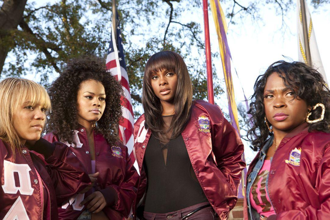 """Die """"Theta Nus"""" Nikki (Tika Sumpter, 2.v.r.) und Rena (Teyana Taylor, 2.v.l.) setzen auf Sieg, aber ihr Fuchs ist momentan mit vielen persönlichen P... - Bildquelle: 2010 Sony Pictures Worldwide Acquisitions Inc. All Rights Reserved"""