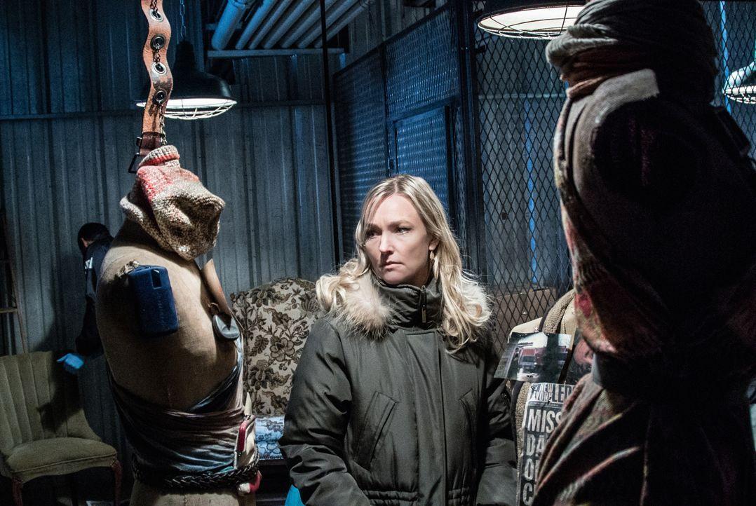 Sherlock Holmes sieht sich dazu gezwungen, mit der FBI-Profilerin Kathryn Drummond (Kari Matchett) zusammenzuarbeiten ... - Bildquelle: CBS Television