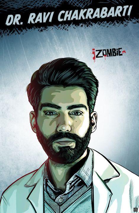 (1. Staffel) - Der Mann, der Liv deckt: Dr. Ravi Chakrabarti (Rahul Kohli) ist sehr interessiert in Mutationen und Zombies und deckt Liv so ... - Bildquelle: 2014 Warner Brothers